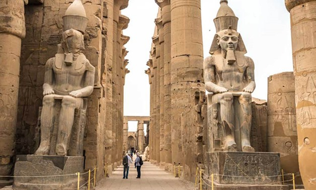 Luxor Temple - Press photo