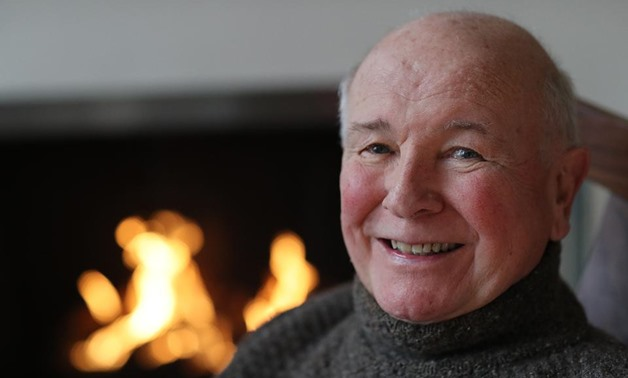 Playwright Terrence McNally appears in a portrait taken in his home on March 2, 2020, in New York City.  AL PEREIRA/GETTY IMAGES