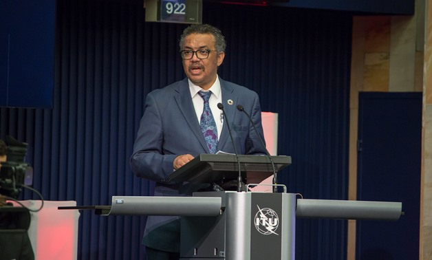 edros Adhanom Ghebreyesus - Director General, World Health Organization (WHO) delivering his opening remarks at the AI for Good Global Summit 2018/ 15-17 May 2018, Geneva- CC via Flickr/ ITU Pictures