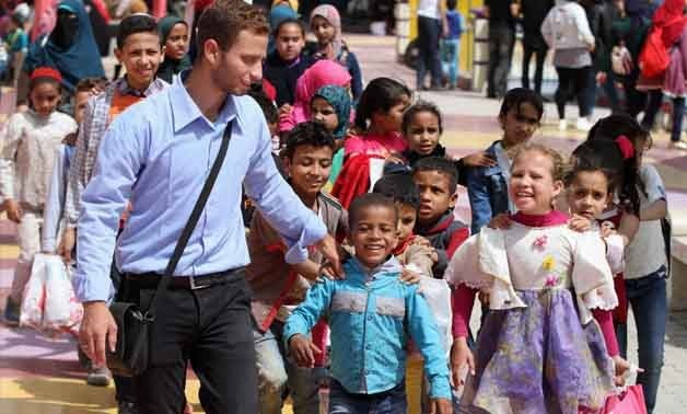 Celebrations of Orphanages day in Egypt - Egypt Today/Hossam Atef