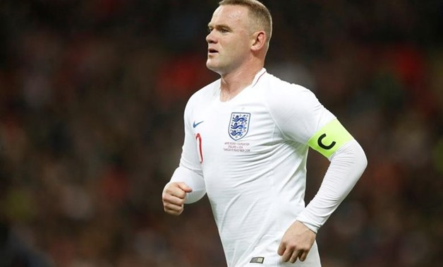 FILE PHOTO: Soccer Football - International Friendly - England v United States - Wembley Stadium, London, Britain - November 15, 2018 England's Wayne Rooney during the match Action Images via Reuters/Carl Recine/File Photo