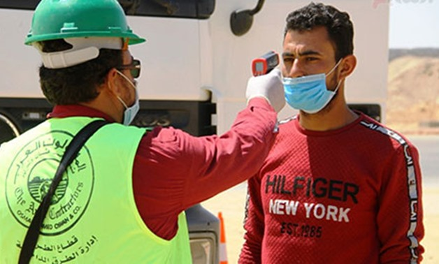 The measures include screening laborers, technicians and engineers before they enter their sites and maintaining social distancing - Egypt Today