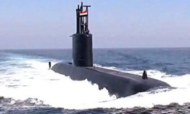 Egypt's third class 209/1400mod submarine called S43 – Facebook page of Egyptian Armed Forces Spokesperson