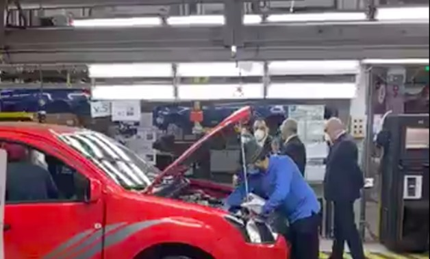 During Madbouli's tour in the Factory - Screenshot of a video inside the factory