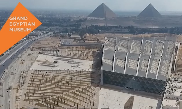 Screenshot from video made available by Egypt's Ministry of Tourism & Antiquities in cooperation with Ministry of State for Information.