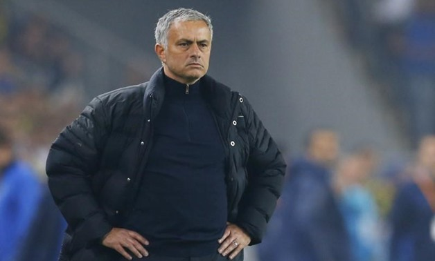 Football Soccer - Fenerbahce SK v Manchester United - UEFA Europa League Group Stage - Group A - SK Sukru Saracoglu Stadium, Istanbul, Turkey - 3/11/16 Manchester United manager Jose Mourinho Reuters / Murad Sezer Livepic EDITORIAL USE ONLY.