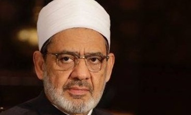 FILE - Al-Azhar Grand Imam Ahmed Al-Tayeb