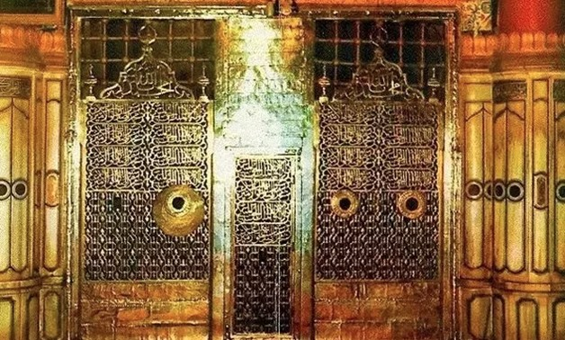 The tomb of Prophet Mohammed, Peace be upon him, in Medina KSA - Quora/Shehryar Awan