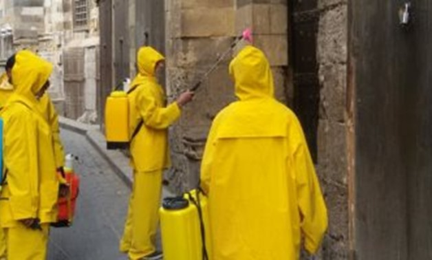 Disinfecting archaeological sites as a precautionary measure taken by the state to combat the novel coronavirus - ET
