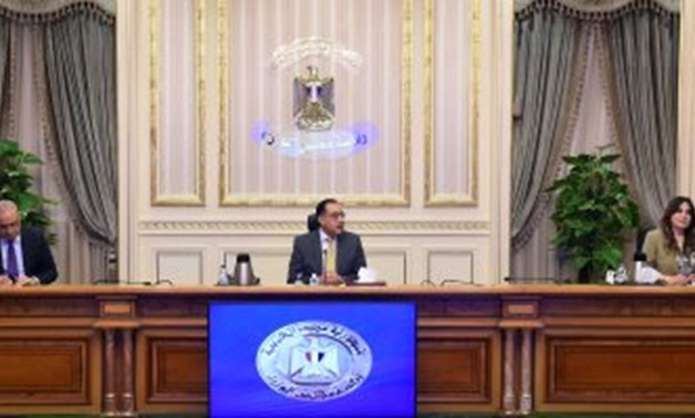Prime Minister Mostafa Madbouli during the press conference