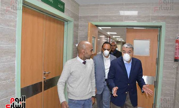 Number of recovered cases at Mallawy hospital rises to 75 - Youm7