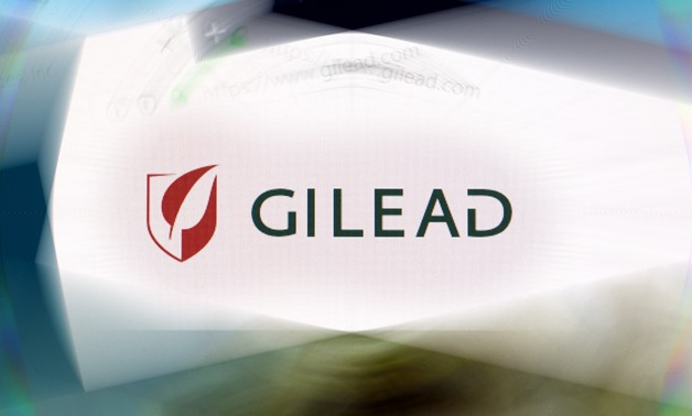 Gilead Sciences logo on company website displayed on computer screen with ripple effect- CC via Flickr/Ivan Radic