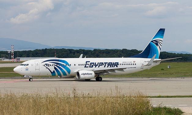 EgyptAir flight- CC via wikimedia