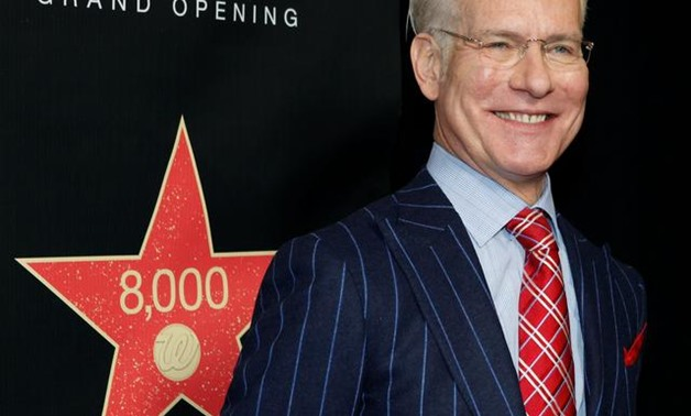 FILE PHOTO: American fashion consultant and television personality Tim Gunn arrives at a private cocktail event celebrating the grand opening of drugstore chain Walgreens newest flagship store on the famous corner of Sunset & Vine in Hollywood, California