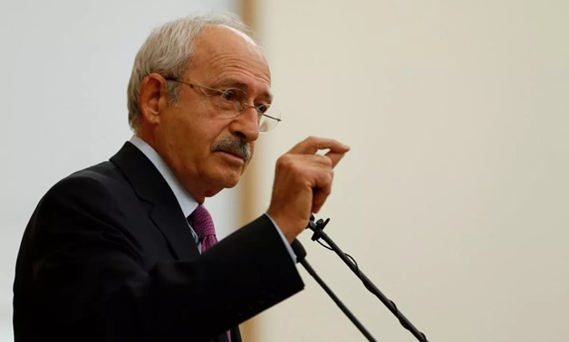 FILE: Head of Turkey's main opposition party, Republican People's Party (CHP), Kemal Kilicdaroglu