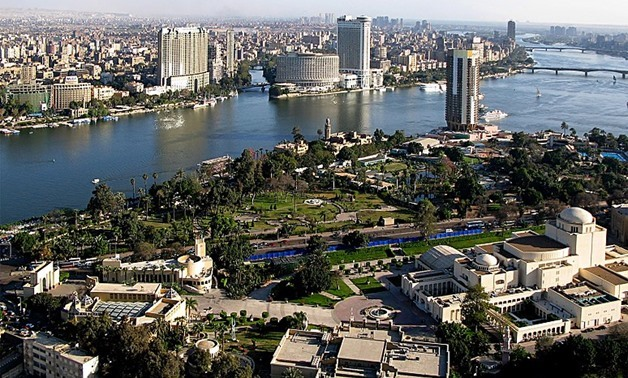 FILE – A view from Cairo Tower – Wikimedia Commons/ Raduasandei