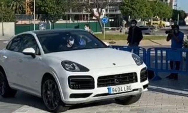 Barcelona players arrive to the club - FILE