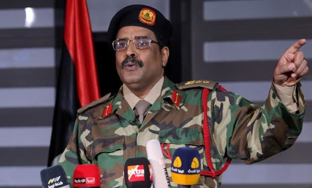 FILE: Spokesman of the Commander-in-Chief of the Libyan Armed Forces, Major General Ahmed Al-Mesmari.