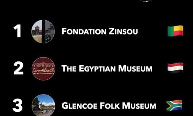 File- UNESCO chooses Egyptian Museum in Tahrir as the most influential museum in Africa.