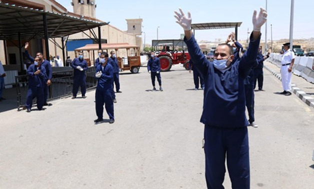 A number of prisoners were released on the occasion of Eid al-Fitr, May 24, 2020- press photo.