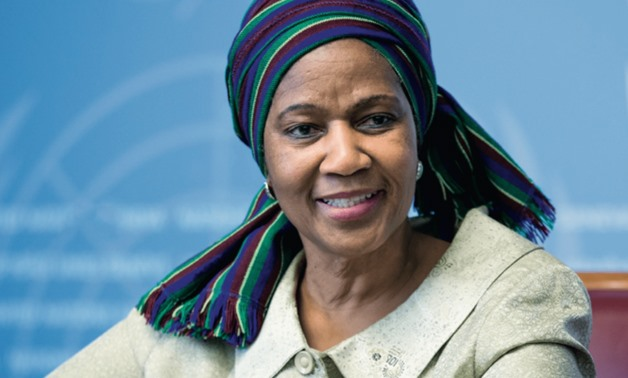 Under-Secretary-General and Executive Director of UN-Women, H.E. Phumzile Mlambo-Ngcuka | Image: Twitter@NomenduFani