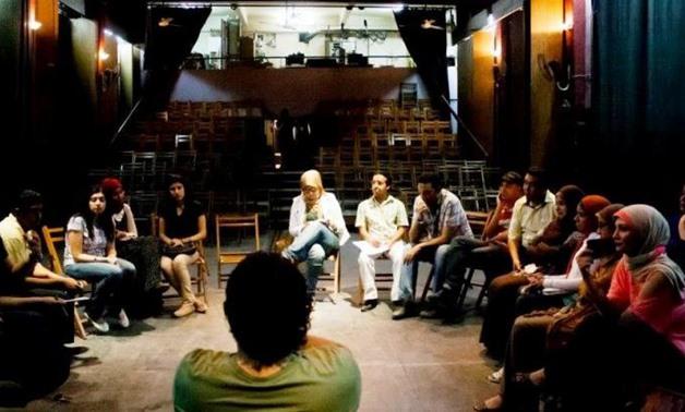 Youth Cinema Club in Egypt - Press photo