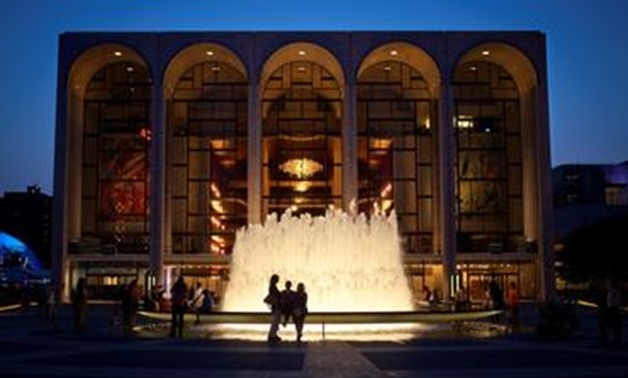 FILE PHOTO: The Metropolitan Opera House is pictured at Lincoln Center in New York July 30, 2014. REUTERS/Carlo Allegri.