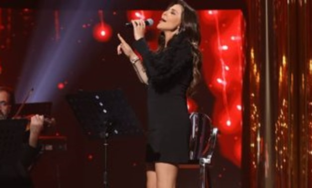 File - Elissa during her successful concert.