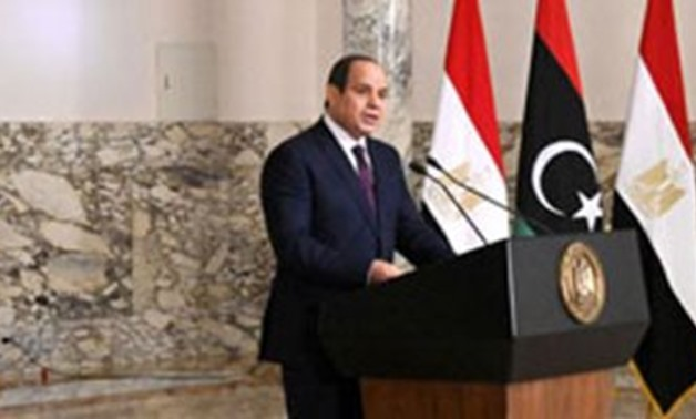 President Sisi announces peace initiative to end conflict in Libya