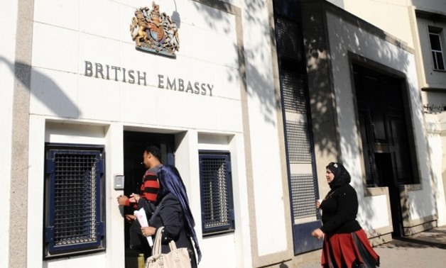 FILE: UK embassy in Cairo