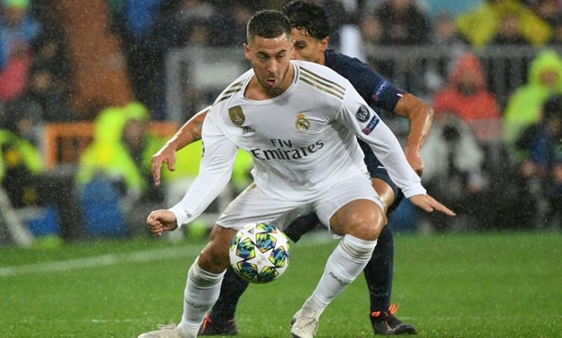 Eden Hazard has endured a nightmare first season at Real Madrid but could make amends in the final 11 games. AFP/File / GABRIEL BOUYS
