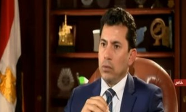 Ashraf Sobhy, The Minister of Youth and Sports - FILE