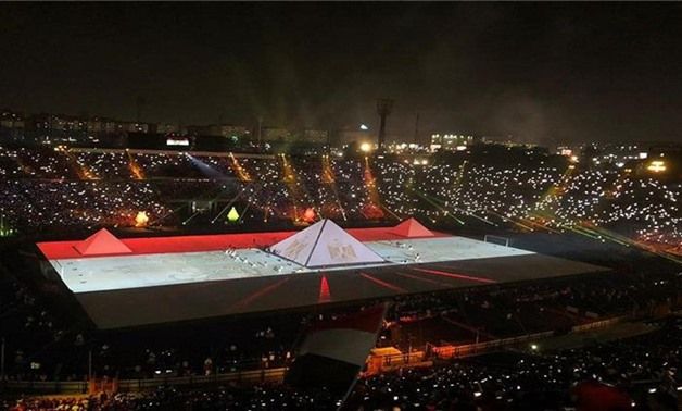 Egypt's opening ceremony for AFCON U-23 - File
