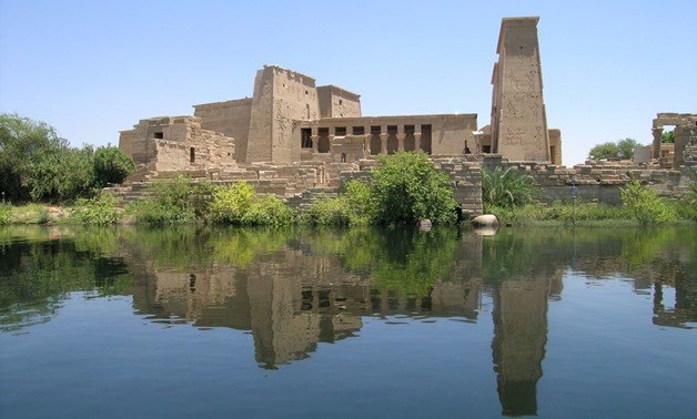 FILE - Philae Temple in Aswan