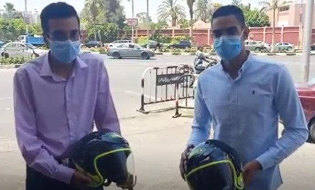 The two youths appeared in a video speaking about the incident and thanking the president for the kind gesture