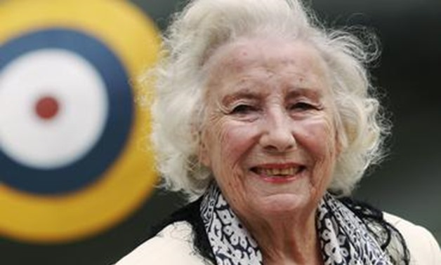 FILE PHOTO: Second World War British Forces Sweetheart Vera Lynn attends the Battle of Britain commemoration outside the Churchill War Rooms in London August 20, 2010. REUTERS/Luke MacGregor.