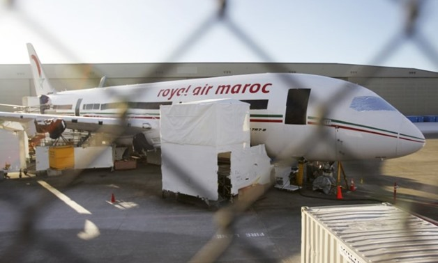 Morocco Airways jet- Reuters