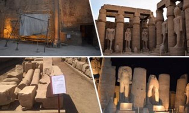 Egypt is gradually re-opening touristic sites next month – ET compiled photo