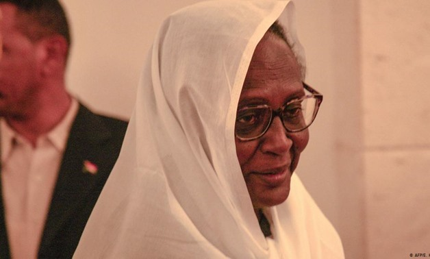 Sudan's Foreign Minister Asmaa Mohammed Abdallah  - File