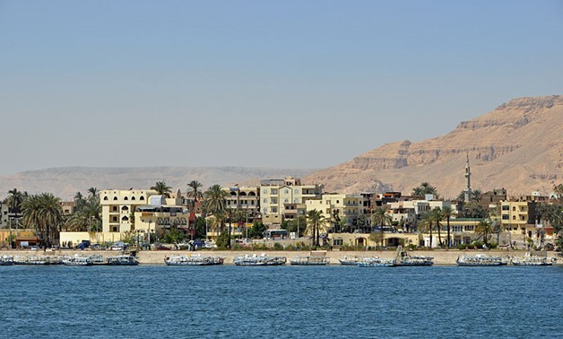 FILE - A view from Luxor - Wikimedia Commons/Marc Ryckaert