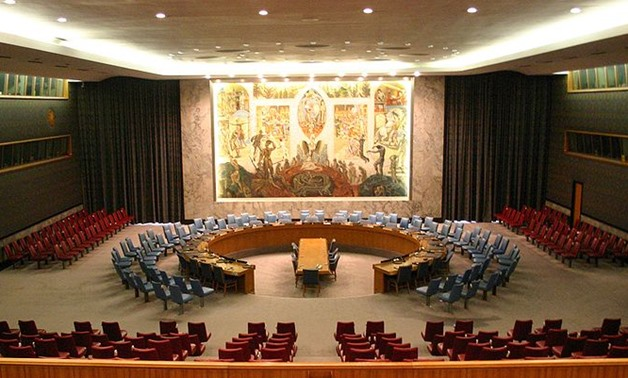 FILE - The United Nations Security Council Chamber in New York – Flickr/Patrick Gruban