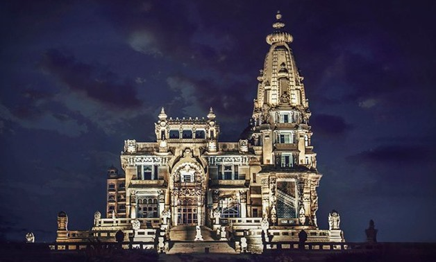 FILE - Baron Empain Palace in Heliopolis, The City of the Sun