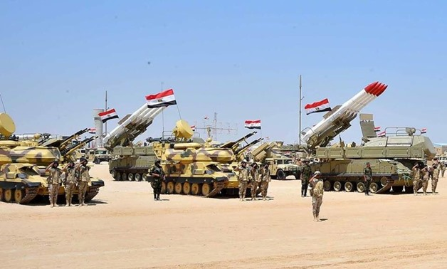 FILE – Egyptian Air Defense – Press Photo