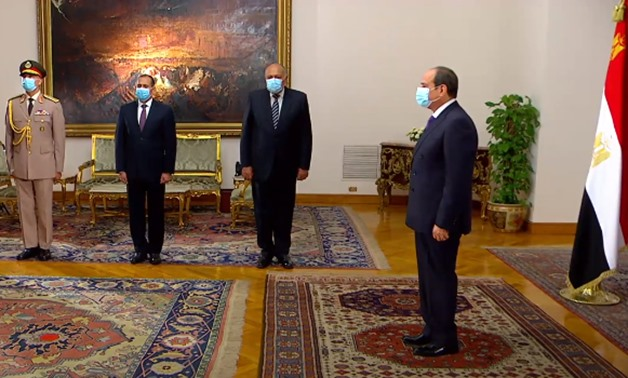 Egypt's President Abdel Fattah El Sisi on Wednesday received the credentials of six ambassadors to Egypt - Presidency