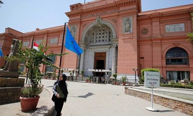 Egyptian Museum in Tahrir – Press photo