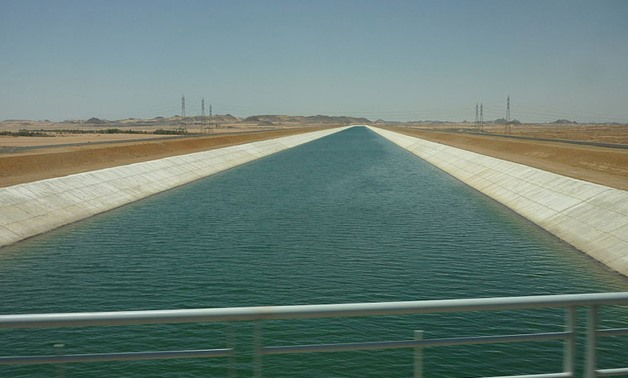 Sheikh Zayed Canal in Toshka land reclamation project in southwestern Egypt - Remih via Wikimedia Commons