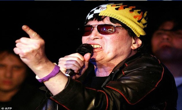 Alan Vega, pictured performing in 2008, was one of the founders of underground punk in the US in the 70s