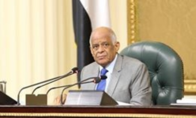 Speaker of the Parliament – Ali Abdel Aal – File Photo