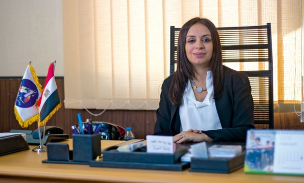 Chairperson of the National Council for Women (NCW) Maya Morsy- File photo