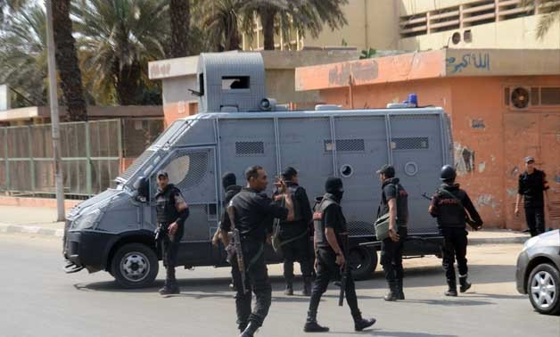 security forces deployed in Cairo streets- Hazem Abdel Samad- File photo